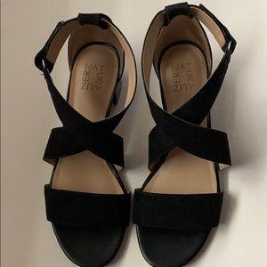 Women's Nordstrom Adele black Sandal size 8 1/2